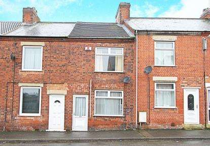 2 Bedrooms Terraced House for sale in Barton Street, Clowne, Chesterfield, Derbyshire