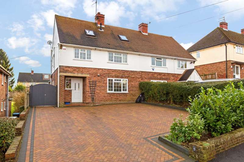 3 Bedrooms Semi Detached House for sale in Bourne Road, Berkhamsted