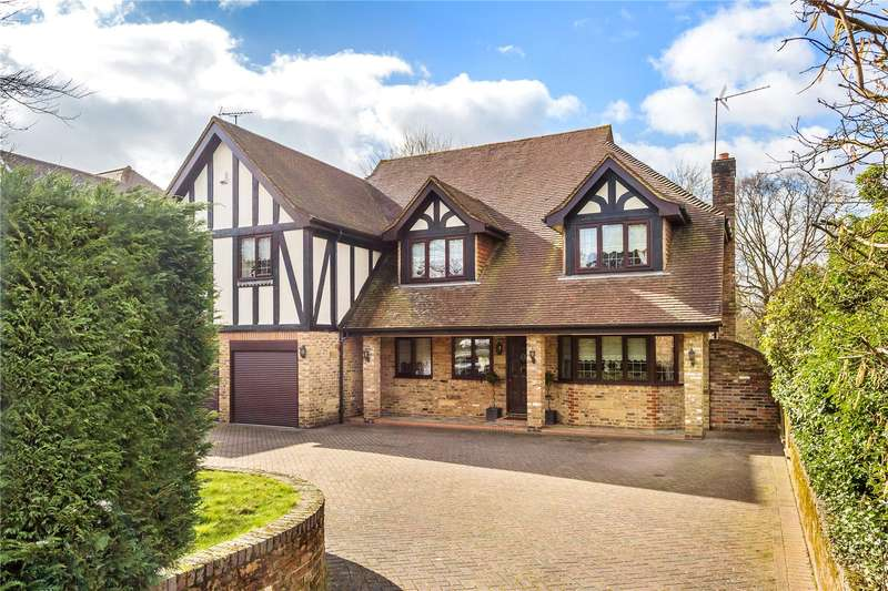 5 Bedrooms Detached House for sale in Rockfield Road, Oxted, Surrey, RH8