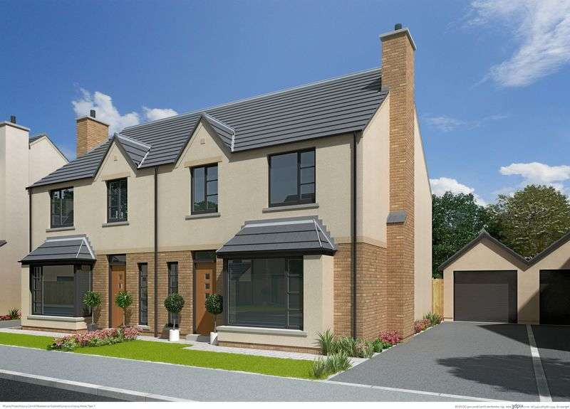 3 Bedrooms Semi Detached House for sale in The BANEBERRY