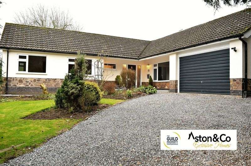 3 Bedrooms Detached Bungalow for sale in Lodge Close, Kibworth Harcourt, Leicestershire LE8 0LW