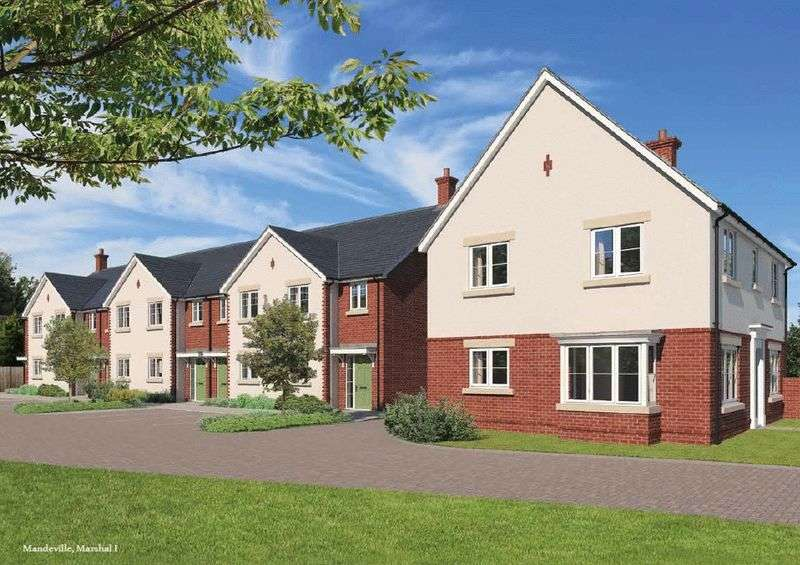 3 Bedrooms Terraced House for sale in BRAND NEW DEVELOPMENT at Earls Park, Tuffley Crescent, Gloucester GL1 5NE