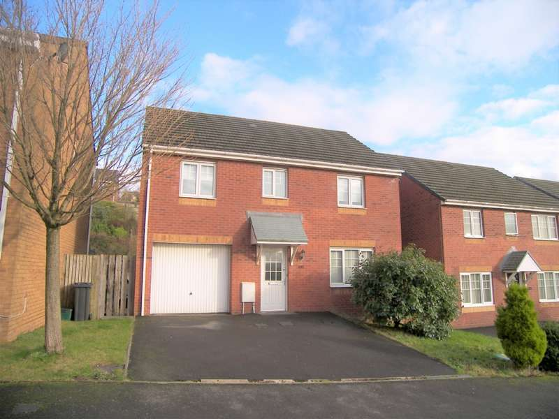 4 Bedrooms Detached House for sale in Edith Mills Close, Briton Ferry