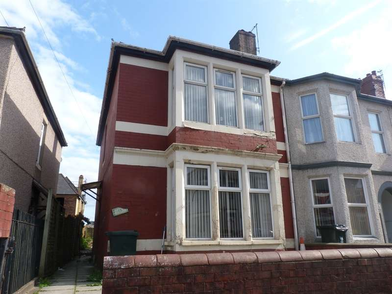 3 Bedrooms End Of Terrace House for sale in St Vincent Road, Newport