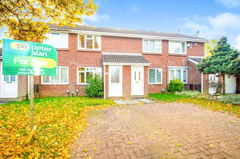 2 Bedrooms Terraced House for sale in Fairhaven Close, St. Mellons, Cardiff