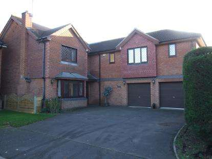 5 Bedrooms Detached House for sale in Swallows Drive, Stathern, Melton Mowbray, Leicestershire