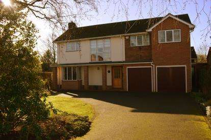 4 Bedrooms Detached House for sale in Stafford Road, Lichfield, Staffordshire