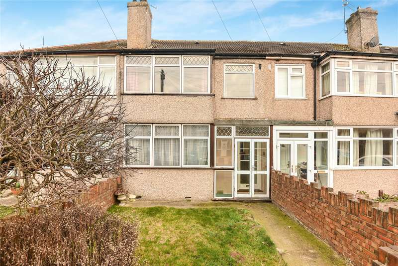 3 Bedrooms Terraced House for sale in Grosvenor Crescent, Uxbridge, Middlesex, UB10
