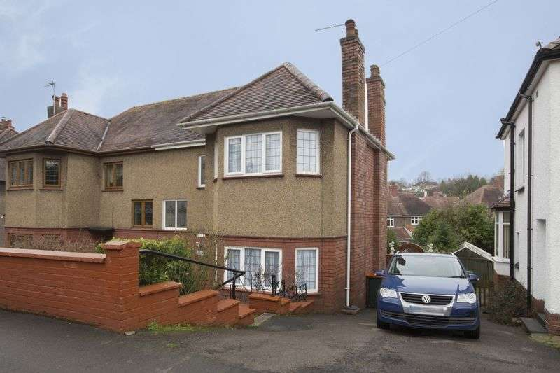 3 Bedrooms Semi Detached House for sale in Fields Park road, Gwent