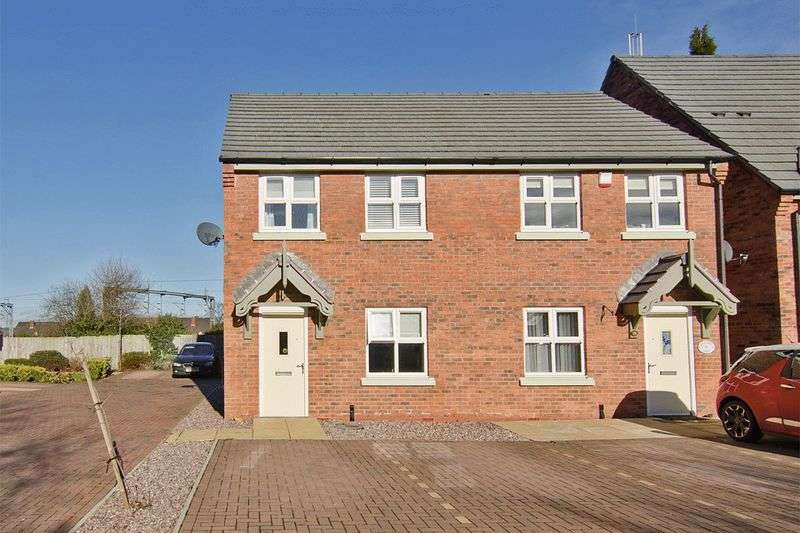 3 Bedrooms Semi Detached House for sale in Far Lady Croft, Armitage, Rugeley