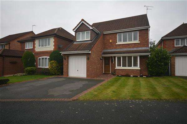 4 Bedrooms Detached House for sale in Ben Nevis Drive, Ledsham Park