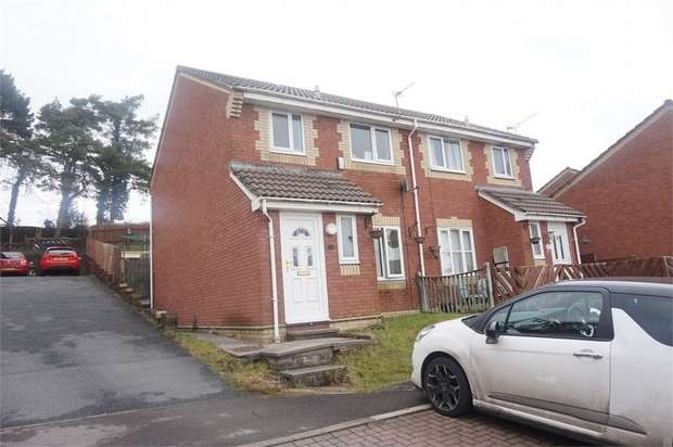 3 Bedrooms Semi Detached House for sale in Y Cedrwydden, BLACKWOOD, Caerphilly