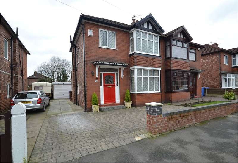 3 Bedrooms Semi Detached House for sale in Knypersley Avenue, Offerton, Stockport SK2 5SR