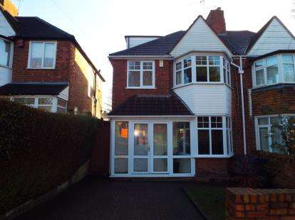 3 Bedrooms Semi Detached House for sale in Kingstanding Road, Birmingham, West Midlands