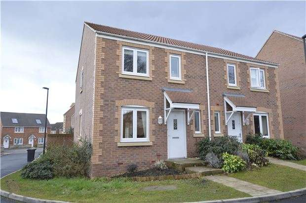 3 Bedrooms Semi Detached House for sale in Green Crescent, BS36 2FG