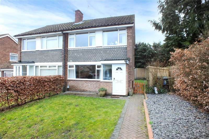 3 Bedrooms Semi Detached House for sale in Attlee Gardens, Church Crookham, Fleet, GU52