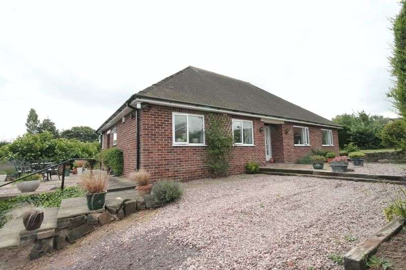 3 Bedrooms Detached Bungalow for sale in Newcastle Road, Market Drayton
