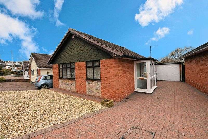2 Bedrooms Detached Bungalow for sale in Woodbury Road, Halesowen
