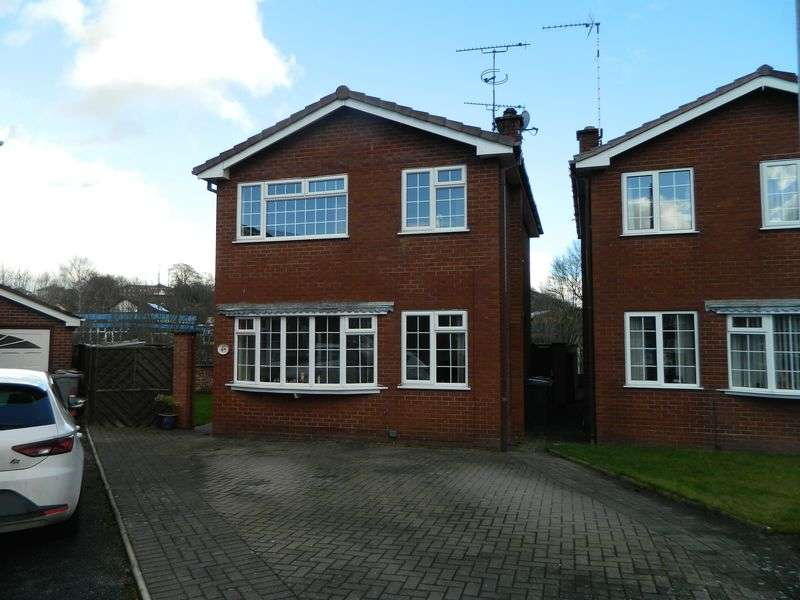 3 Bedrooms Detached House for sale in Belgrave Avenue, Congleton