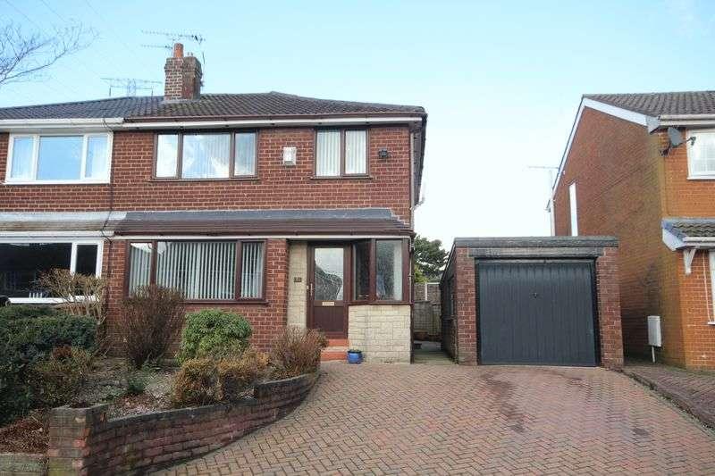 3 Bedrooms Semi Detached House for sale in GREENVALE, Bamford, Rochdale OL11 5QJ