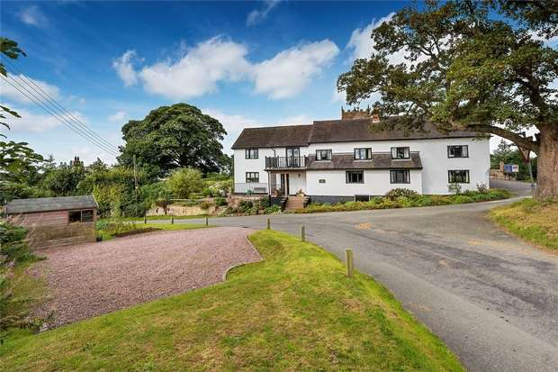 5 Bedrooms Detached House for sale in The Long House, Grub Street, High Offley