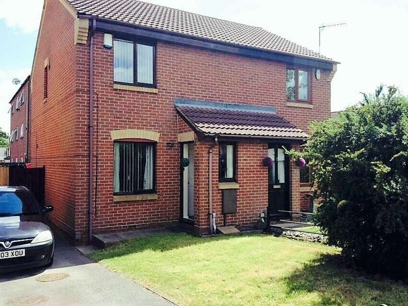 2 Bedrooms Semi Detached House for sale in Donbas Close, Nottingham, NG6