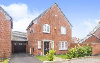 3 Bedrooms Detached House for sale in Thomas Drive, Countesthorpe, Leicester, Leicestershire