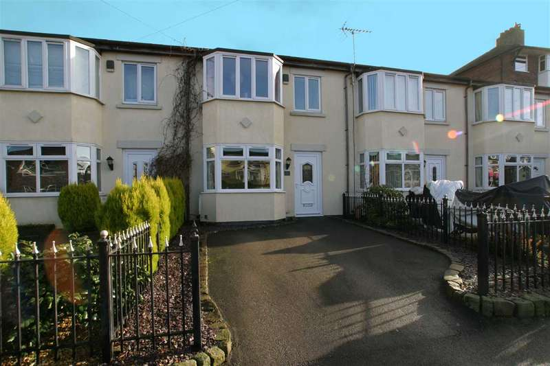 3 Bedrooms Town House for sale in Sandon Street, Leek