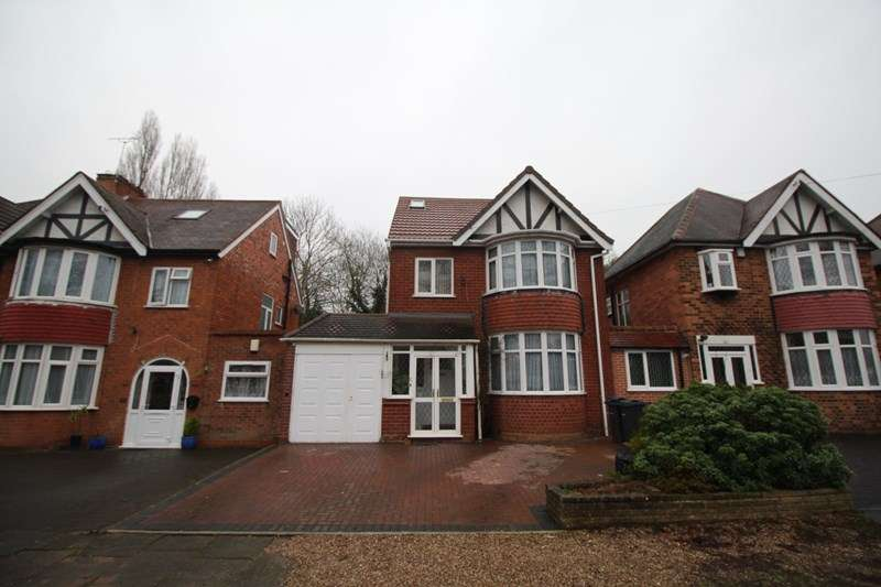 5 Bedrooms Link Detached House for sale in Sarehole Road, Hall Green, Birmingham