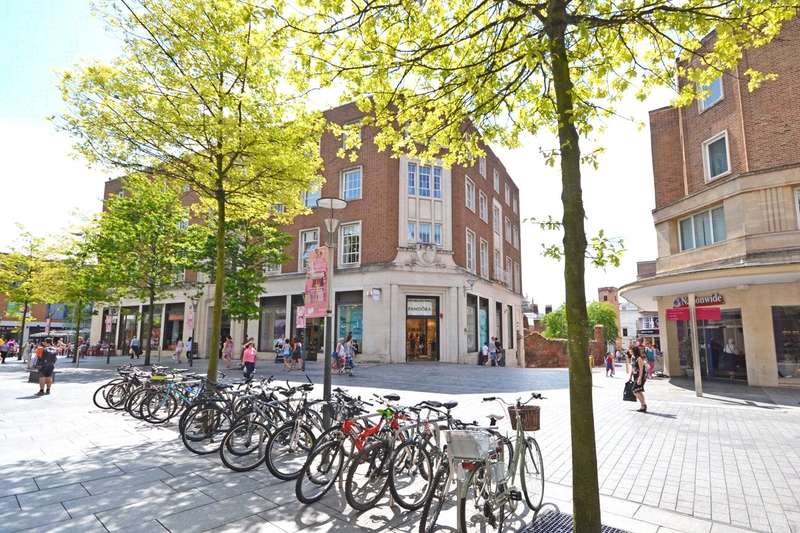 1 Bedroom Flat for sale in 14 Bedford Street, Princesshay, Exeter