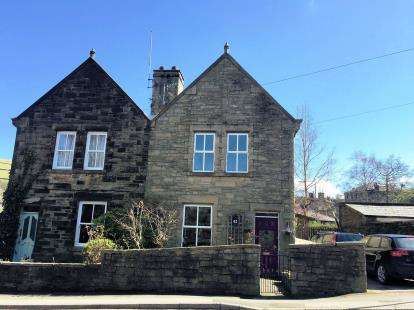 3 Bedrooms Semi Detached House for sale in Station Road, Hayfield, High Peak, Derbyshire