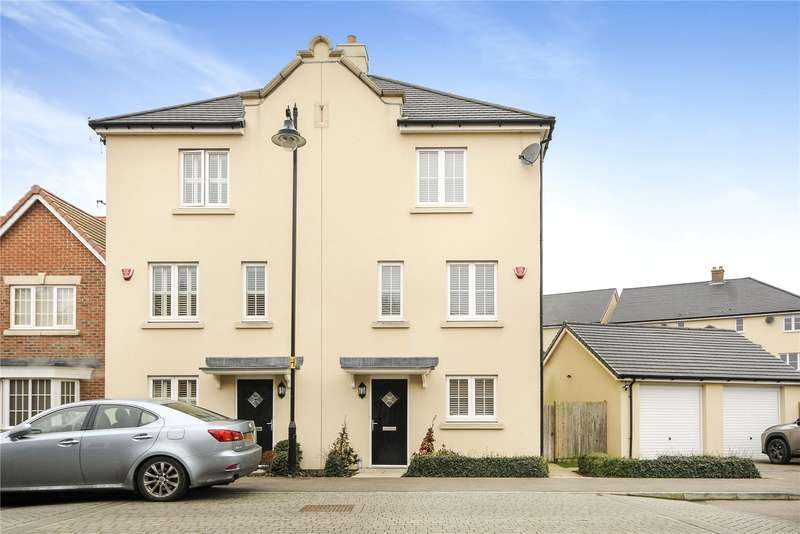 4 Bedrooms Mews House for sale in Pevensey Way, Croxley Green, Hertfordshire, WD3