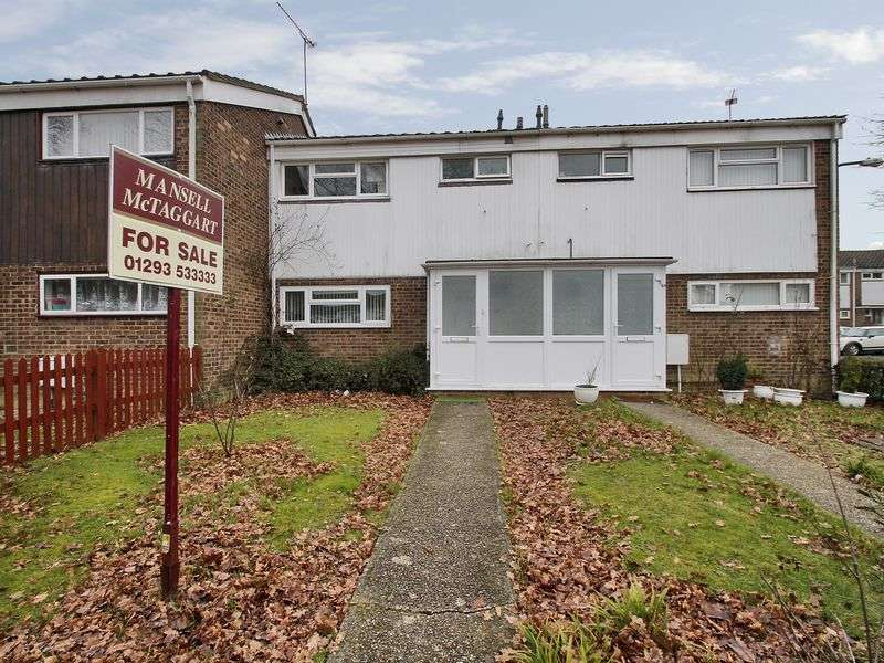 3 Bedrooms Terraced House for sale in Trefoil Crescent, Broadfield, Crawley, West Sussex