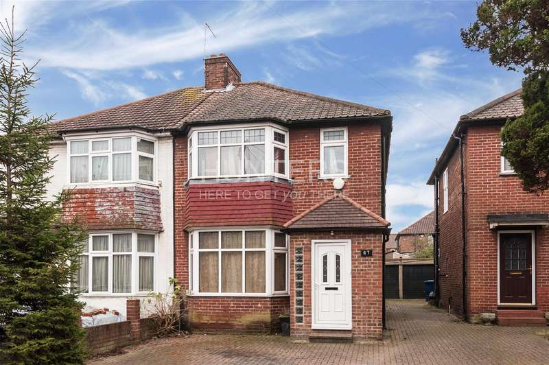 3 Bedrooms House for sale in Cumbrian Gardens, London, NW2 1ED