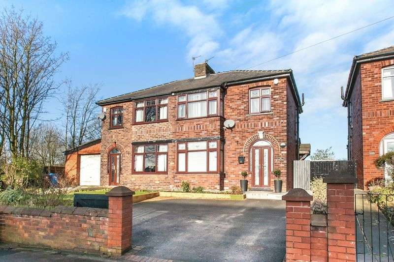 3 Bedrooms Semi Detached House for sale in Spendmore Lane, Coppull, PR7 5DE