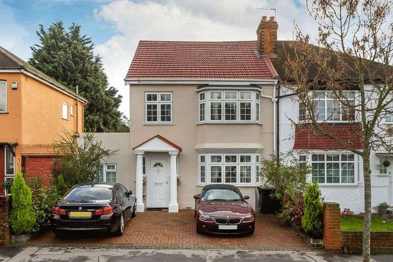 5 Bedrooms Semi Detached House for sale in Carolina Road, THORNTON HEATH