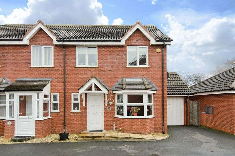 3 Bedrooms Semi Detached House for sale in Church Street, Clayhanger, Walsall