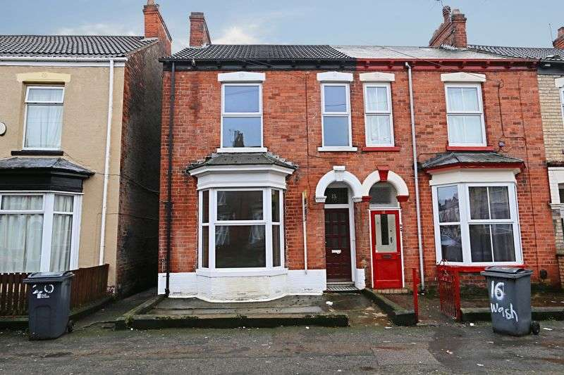 3 Bedrooms Terraced House for sale in Washington Street, Hull