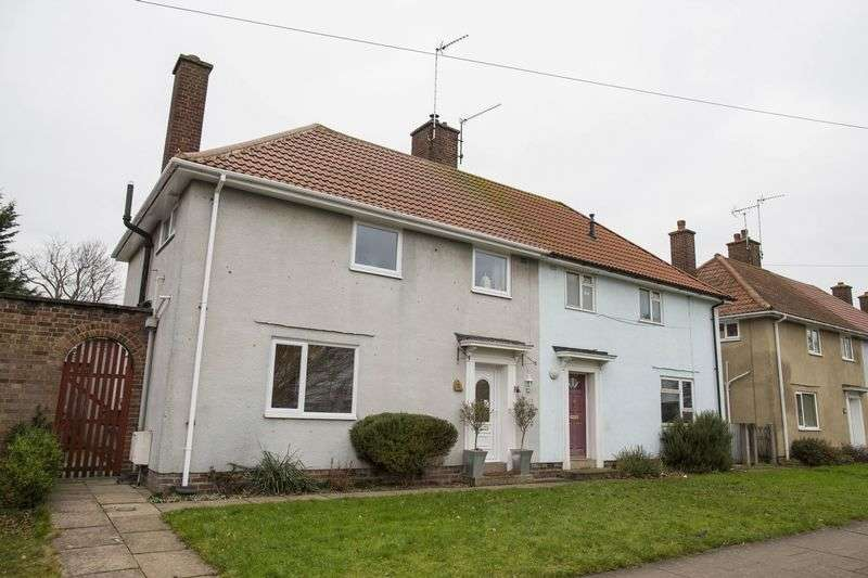 3 Bedrooms Semi Detached House for sale in Mitchell Avenue, Bury St. Edmunds
