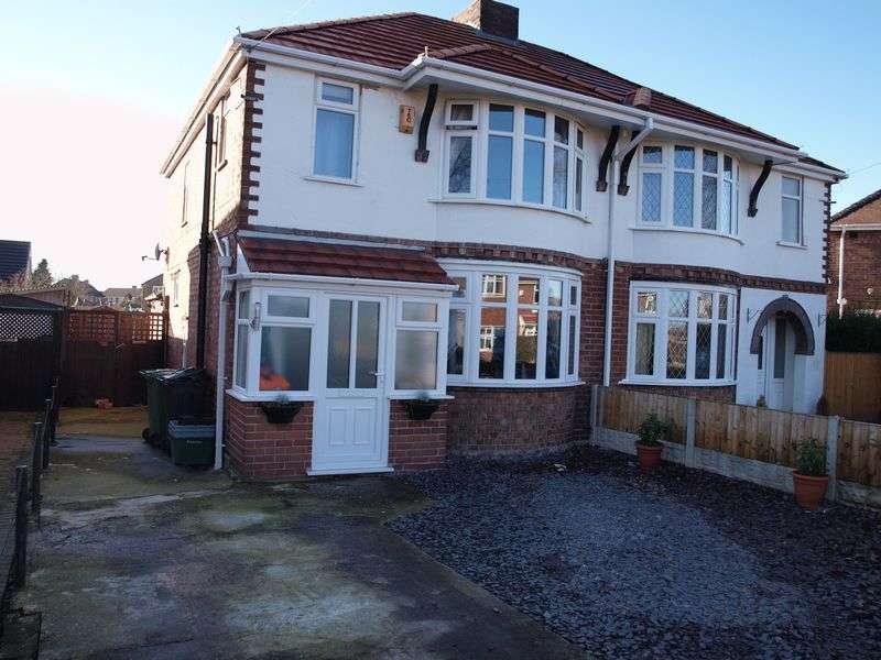 3 Bedrooms Semi Detached House for sale in Gadbrook Road, Northwich, CW9 7JP