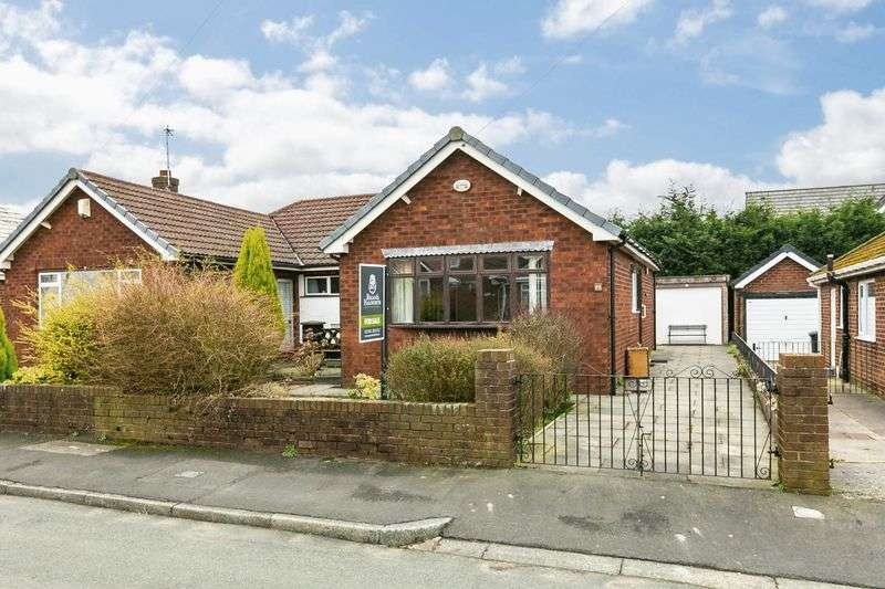 2 Bedrooms Semi Detached Bungalow for sale in Stancliffe Grove, Aspull, WN2 1YG