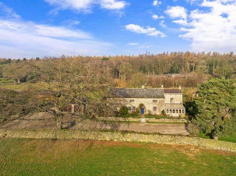 5 Bedrooms Detached House for sale in The Old Farmhouse Birchfield Farm Summerbridge Harrogate HG3 4JS