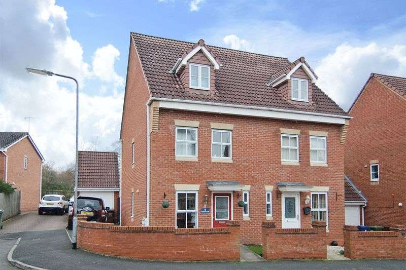 3 Bedrooms Semi Detached House for sale in Windsor Close, Rugeley