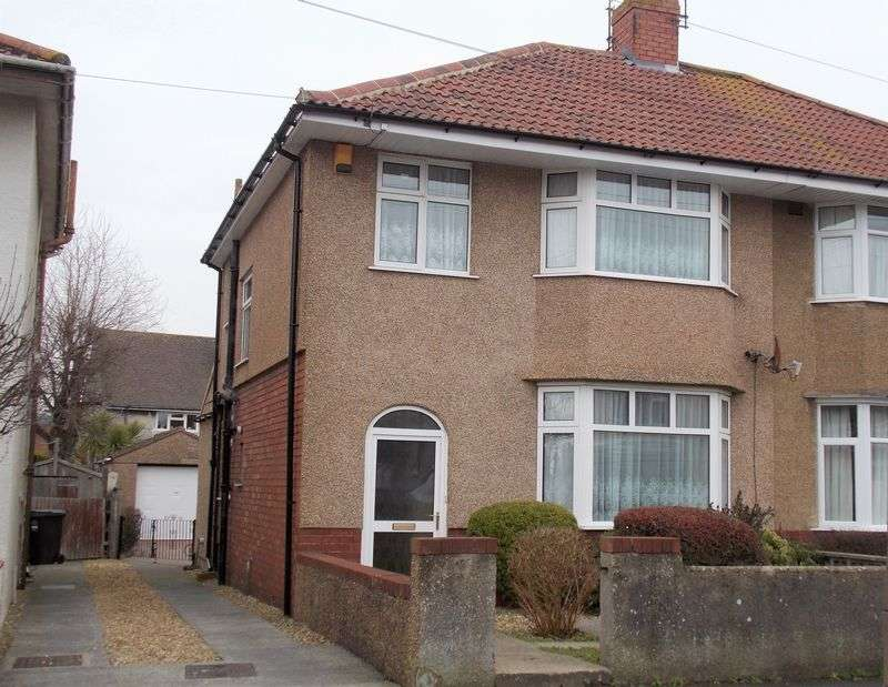 3 Bedrooms Semi Detached House for sale in Laburnum Road, Weston-Super-Mare