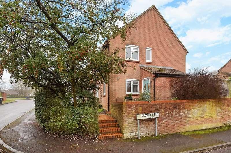 3 Bedrooms Semi Detached House for sale in Harvest Way, Lychpit, Basingstoke, RG24