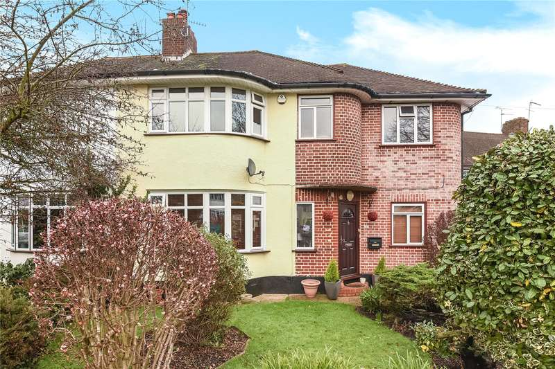 4 Bedrooms Semi Detached House for sale in Broadhurst Gardens, Eastcote, Middlesex, HA4