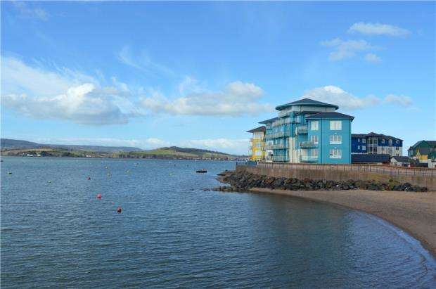3 Bedrooms Maisonette Flat for sale in Spinnakers, Shelly Road, Exmouth