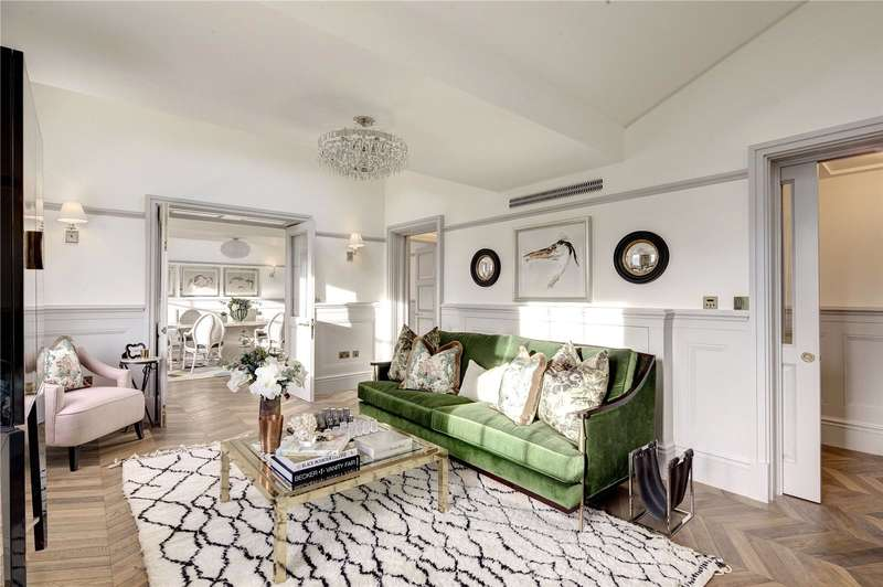 3 Bedrooms Flat for sale in Leinster Square, London, W2