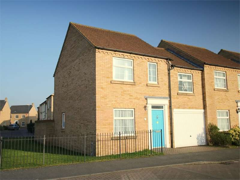 3 Bedrooms End Of Terrace House for sale in Eynesbury Manor, St. Neots