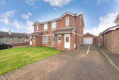 3 Bedrooms Semi Detached House for sale in Senate Place, Motherwell, North Lanarkshire